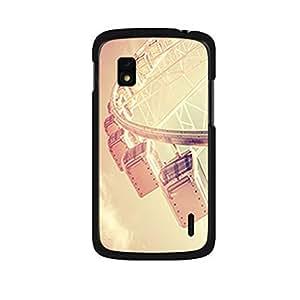 Vibhar printed case back cover for Nexus 4 LondonEye