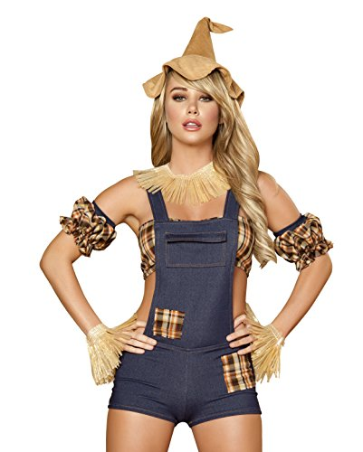 Roma Costume Women's 6pc Scarecrow Maiden Costume