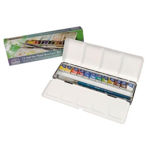 review winsor newton cotman watercolors sketchers box parka blogs