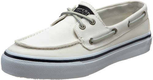 SPERRY TOP SIDER Bahama White Boat Shoes Mens