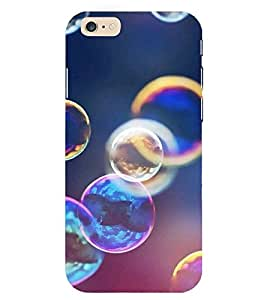 Evaluze bubbles Printed Back Cover for APPLE IPHONE 6
