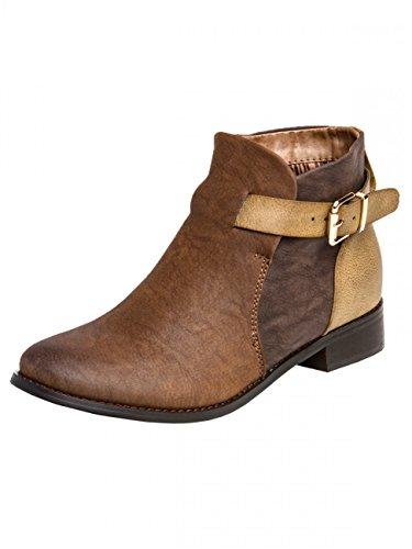 Chaussures Caspar Fashion bleues femme 69nlKw