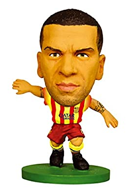SoccerStarz FC Barcelona Dani Alves Limited Edition Away Kit [UK IMPORT]