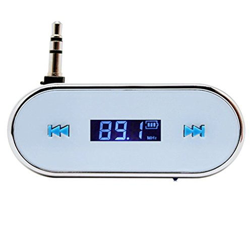 Dragonpad Car Wireless Fm Transmitter For Iphone 5S 5C 4S Ipod Samsung Galaxy S4 Mp3 3.5Mm White