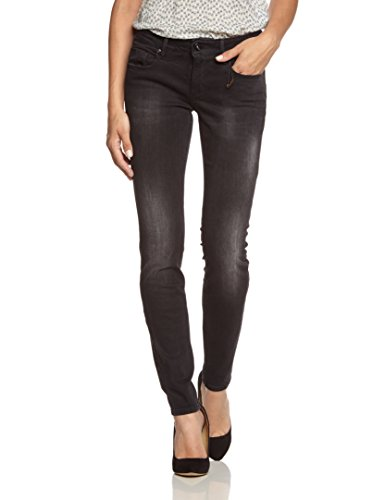BOSS Orange Damen Slim Jeans Lunja2_Zip 01, Gr. W28/L32, Grau (Grey 020)
