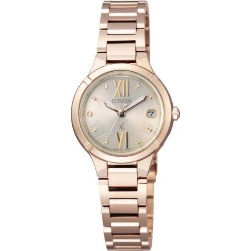 [シチズン]CITIZEN 腕時計 xC クロスシー TITANIA LINE MINISOL Eco-Drive エコ・ドライブ 電波時計 ES8082-54P レディース