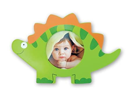 Green Dino Shape 3x3 Picture Frame