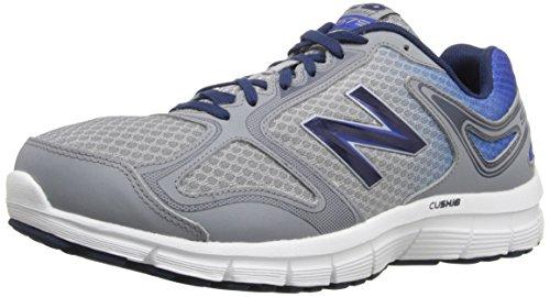 New Balance Men's M579 Running Shoe, Grey/Blue, 11.5 D US