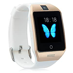Padgene Bluetooth NFC Smart Watch Touch Screen White
