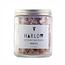 Harlow Skin Co. - All Natural / Vegan Rustic Bath Soak With Dead Sea Salt