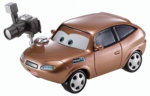 Disney World of Cars, RSN (Racing Sports Network) Die-Cast Vehicle, Cora Copper #6/8, 1:55 Scale