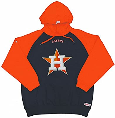 MLB Houston Astros Men's Big Logo Pullover Hood