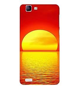 EPICCASE Sunrise Mobile Back Case Cover For Vivo X 3s (Designer Case)