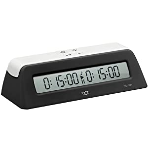 DGT1001 Universal Chess Clock and Game Timer - Black