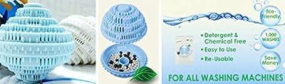 Ceramic Laundry Washing Ball, Wash without Detergent - Large 2pc