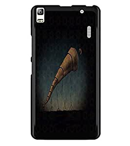 PrintDhaba Abstract Image D-4694 Back Case Cover for LENOVO A7000 TURBO (Multi-Coloured)