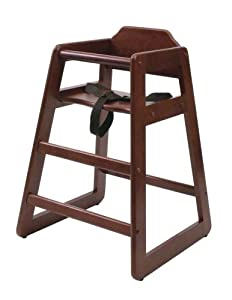 Lipper International 516C High Chair, Cherry