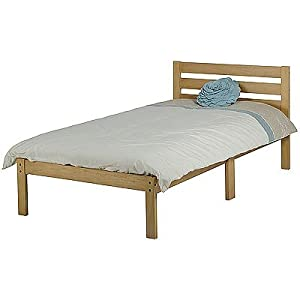 Seconique Lewis Single Bed Natural Oak