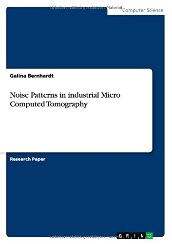Noise Patterns in industrial Micro Computed Tomography