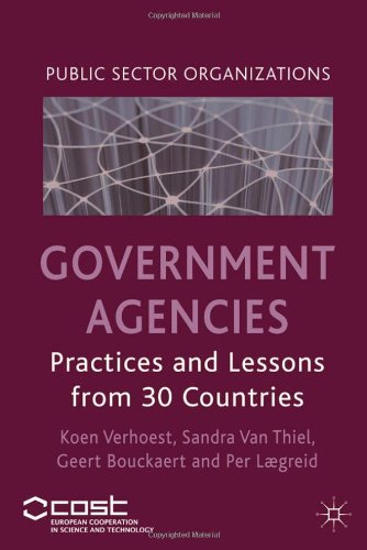 Government Agencies: Practices and Lessons from 30 Countries (Public Sector Organizations)