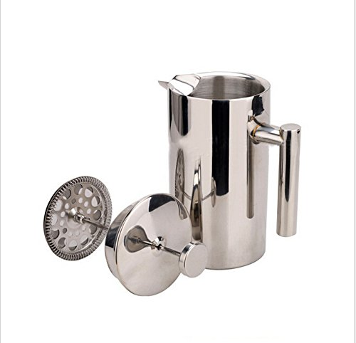 Coffee Press, Windspeed Premium Stainless Steel French Press Coffee Maker with filter, 350ML Hand pressure coffee press teapot
