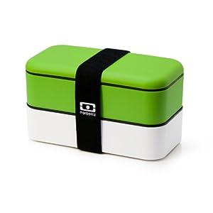 Bento Monbento - double blanc /vert