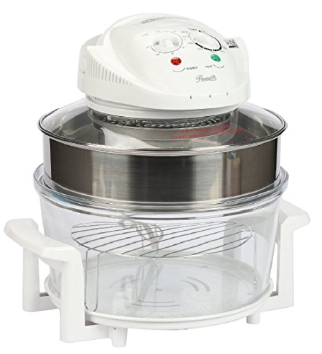 Rosewill R-HCO-15001 Infrared Halogen Convection Oven with Stainless Steel Extender Ring, 12.6-18 Quart, Healthy Low Fat Cooking (Nuwave Oven Replacement Parts compare prices)