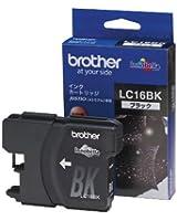 ブラザー工業 インクカートリッジ (黒・大容量) LC16BK