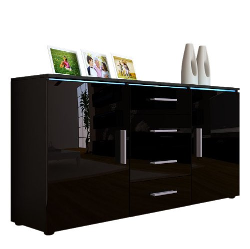 buffet haut pas cher. Black Bedroom Furniture Sets. Home Design Ideas