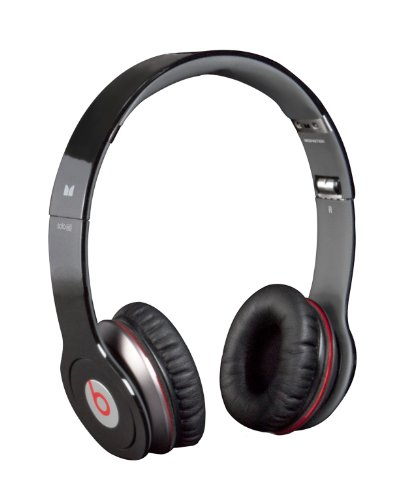 Beats by Dr Dre Solo HD with ControlTalk Headphones from Monster - Black