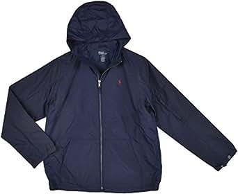 Amazon.com: Polo Ralph Lauren Boys Windbreaker: Navy
