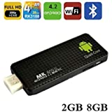Generic MK809III Mini PC TV Box, Android 4.2.2, RK3188 Quad Core up to 1.6GHZ, 2G RAM, 8G ROM, GPU Mali-400 MP4 OpenGLES2.0/1.1 and OpenVG1.1