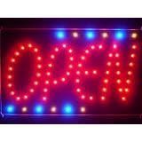 LAMPE NEON ENSEIGNE LUMINEUSE LED led119-r OPEN NEW Style Led Neon Sign WhiteBoard