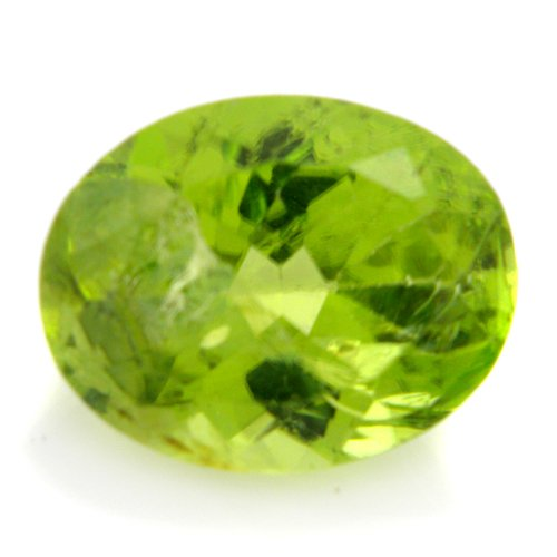Natural Rare Green Peridot Loose Gemstone Oval Cut 2.60cts 10*8mm I Grade