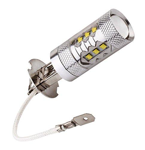 S&D Big Sale!!! Cree 80W Led H3 Super Bright White Fog Tail Turn Drl Head Car Light Lamp Bulb