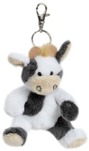 Heunec Besito - Llavero con vaca de peluche (10 cm)