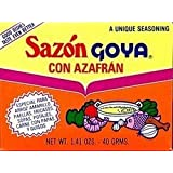 Goya Sazon Goya Azafran, 1.41-Ounce Units