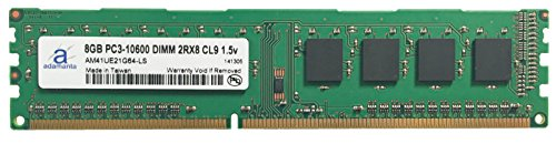 Click to buy Adamanta 8GB (1x8GB) Desktop Memory Upgrade for Acer Aspire MC605_W DDR3 1333 PC3-10600 DIMM 2Rx8 CL9 1.5v Notebook RAM - From only $81.99