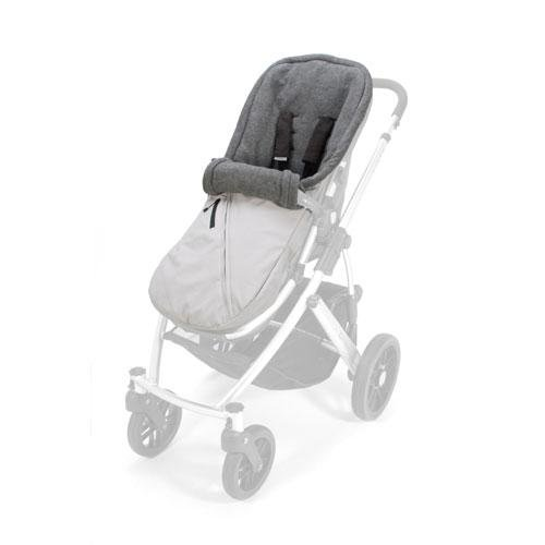 UPPAbaby Babyganoosh Foot Muff, Gray