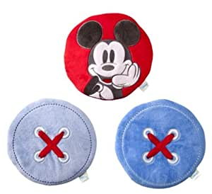 Disney Kidsline Mod Mickey Mouse 3 Piece Nursery Art Wall Hanging