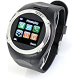 OFTEN Touchscreen Bluetooth Cell Phone Watch FM Camera Mp3/4 (Black)