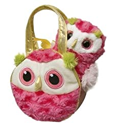 "Who Hoot Pink Owl Fancy Pal 7"" by Aurora"