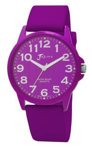 Jaz-ma Ladies Watch - Analogue - Purple Silicone Strap - M11U655