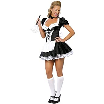French Maid Costume - Small/Medium - Dress Size 2-6