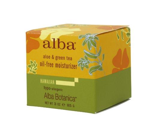 アルバボタニカ ハワイアン オイルフリーモイスチャークリーム AG アロエ&グリーンティー 85g
