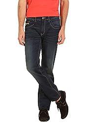 Sting Blue Slim Fit Stretchable Cotton Jeans - 30
