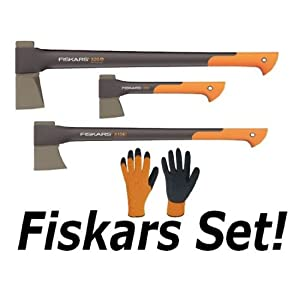 fiskars spaltaxt fiskars set spaltaxt x25 universalaxt. Black Bedroom Furniture Sets. Home Design Ideas