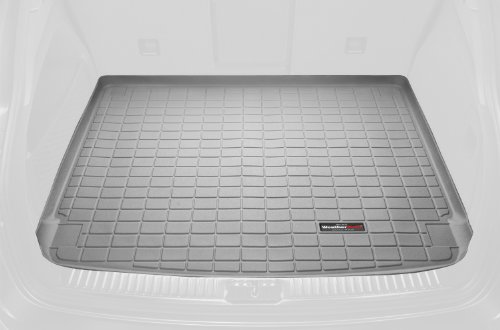 WeatherTech Custom Fit Cargo Liners for Mercedes-Benz GLK-Class (X204), Grey (Weathertech Glk compare prices)
