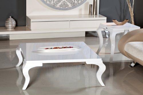Buy low price designer square white color coffee table 2 for Buy white coffee table