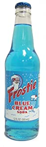 (Retro) Frostie Blue Cream made with Real Cane Sugar 12 pack